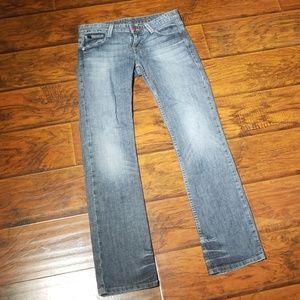 Armani Exchange Women's J57 Straight Jeans